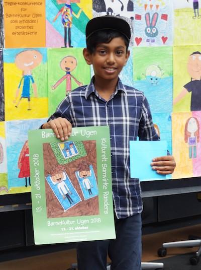 Vinder Subit Shan 9 år